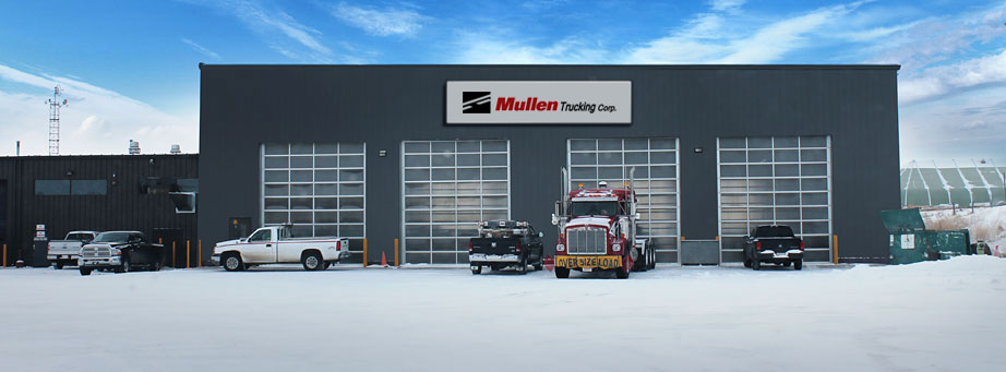 Mullen Trucking Alberta location